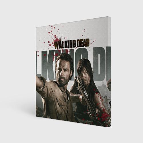 Холст квадратный  Фото 01, The Walking Dead