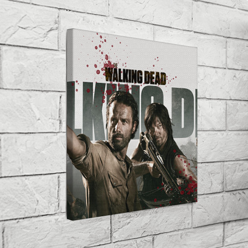 Холст квадратный  Фото 03, The Walking Dead