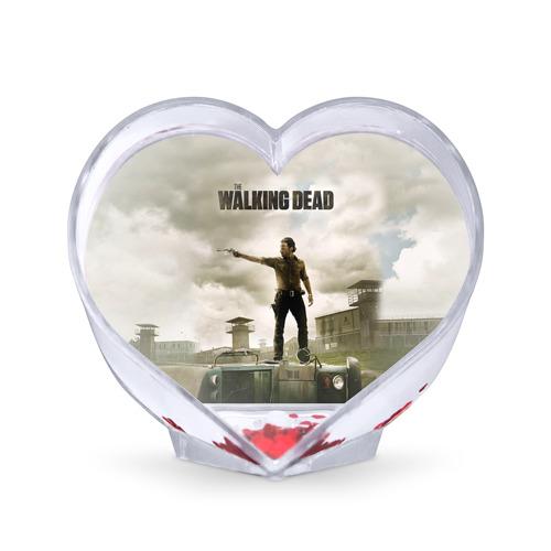 Сувенир Сердце The Walking Dead от Всемайки