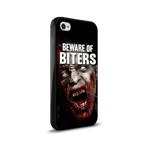 Чехол для Apple iPhone 4/4S силиконовый глянцевый  Фото 02, The Walking Dead