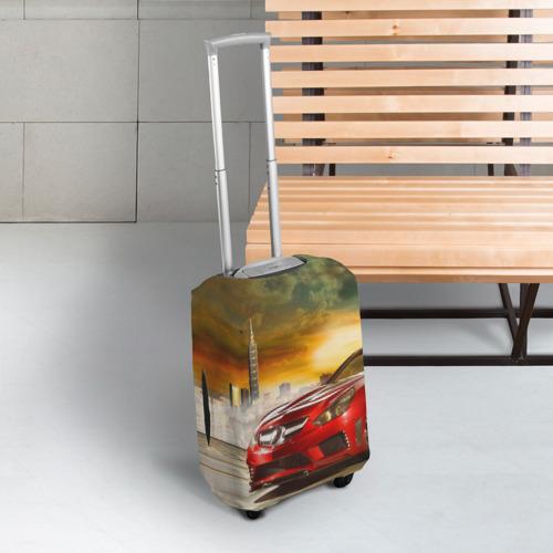 Чехол для чемодана 3D  Фото 03, Mercedes