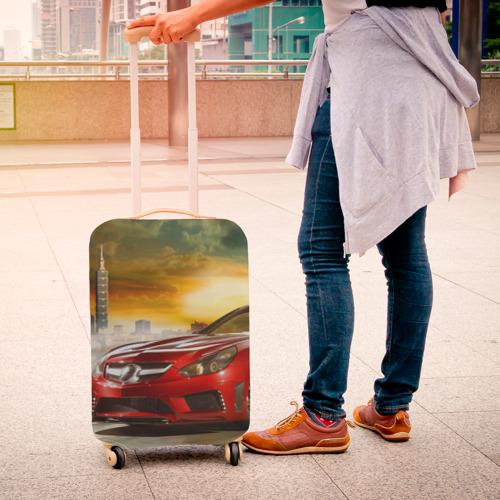 Чехол для чемодана 3D  Фото 04, Mercedes