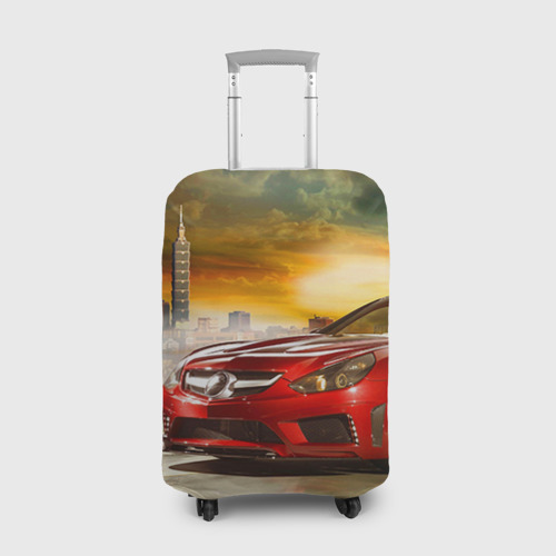 Чехол для чемодана 3D  Фото 01, Mercedes