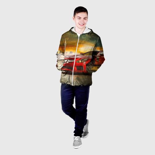 Мужская куртка 3D  Фото 03, Mercedes
