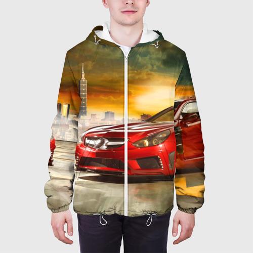 Мужская куртка 3D  Фото 04, Mercedes