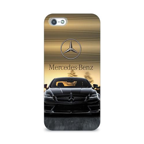 Чехол для Apple iPhone 5/5S 3D  Фото 01, Mercedes