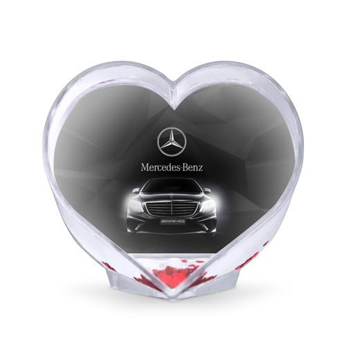 Сувенир Сердце Mercedes от Всемайки