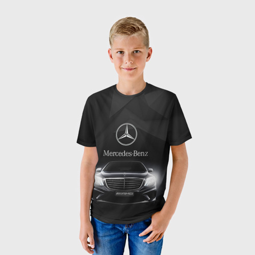 Детская футболка 3D Mercedes