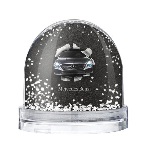 Водяной шар со снегом Mercedes