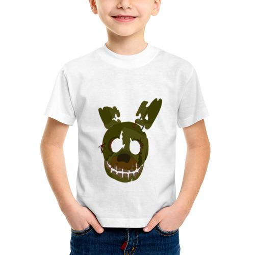 Детская футболка синтетическая FNaF Springtrap от Всемайки
