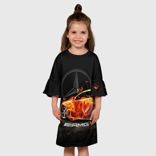 Детское платье 3D  Фото 01, Mercedes