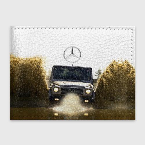 Обложка для студенческого билета Mercedes Фото 01