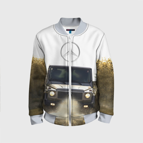 Детский бомбер 3D Mercedes