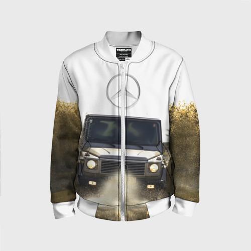 Детский бомбер 3D  Фото 01, Mercedes