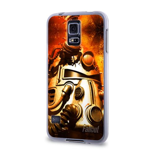 Чехол для Samsung Galaxy S5 силиконовый  Фото 03, Fallout