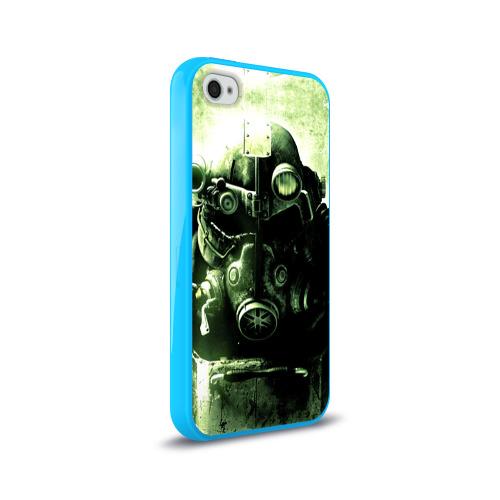 Чехол для Apple iPhone 4/4S силиконовый глянцевый  Фото 02, Fallout