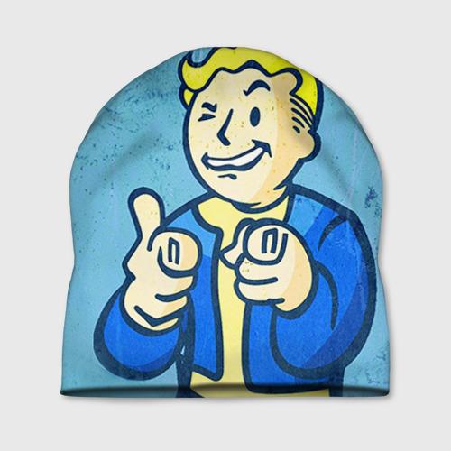 Шапка 3D Fallout