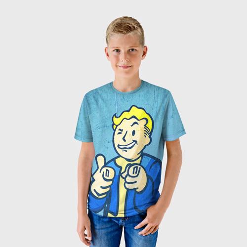 Детская футболка 3D Fallout