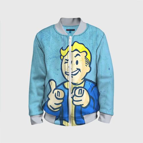 Детский бомбер 3D Fallout