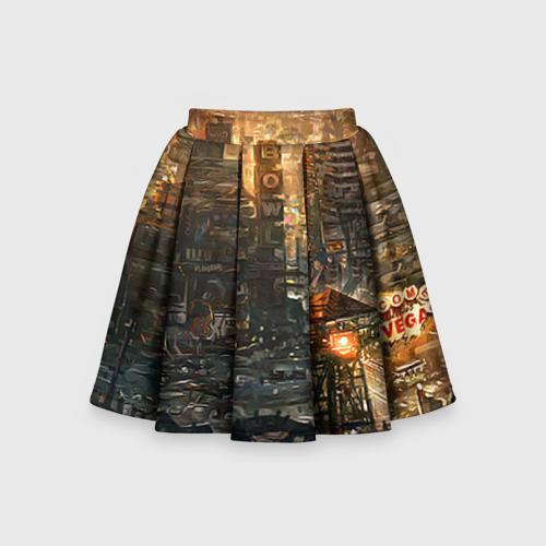Детская юбка-солнце 3D Fallout