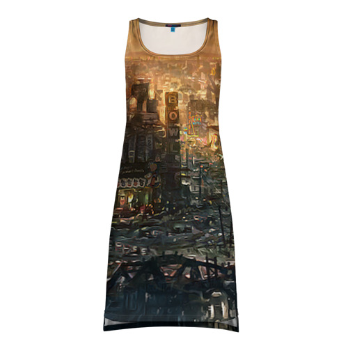 Платье-майка 3D Fallout