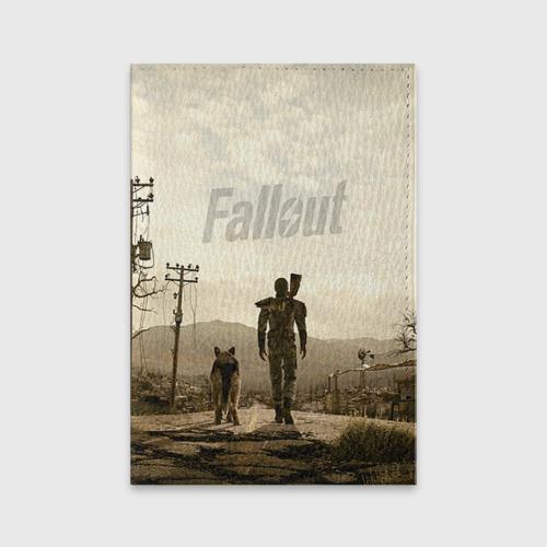 Обложка для паспорта матовая кожа  Фото 01, Fallout