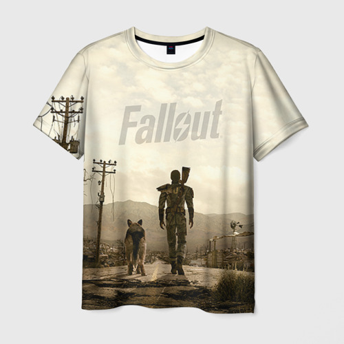 Мужская футболка 3D  Фото 03, Fallout