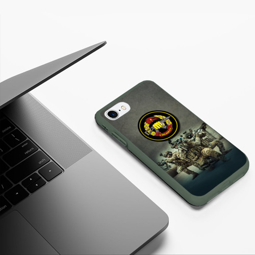 Чехол для iPhone 7/8 матовый Спецназ Фото 01