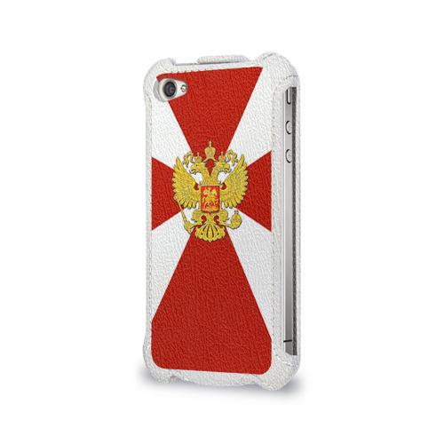 Чехол для Apple iPhone 4/4S flip  Фото 03, Внутренние войска