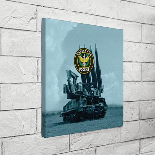 Холст квадратный  Фото 03, Войска Противовоздушной обороны