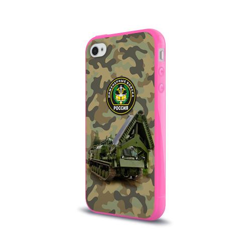 Чехол для Apple iPhone 4/4S силиконовый глянцевый  Фото 03, Инженерные войска