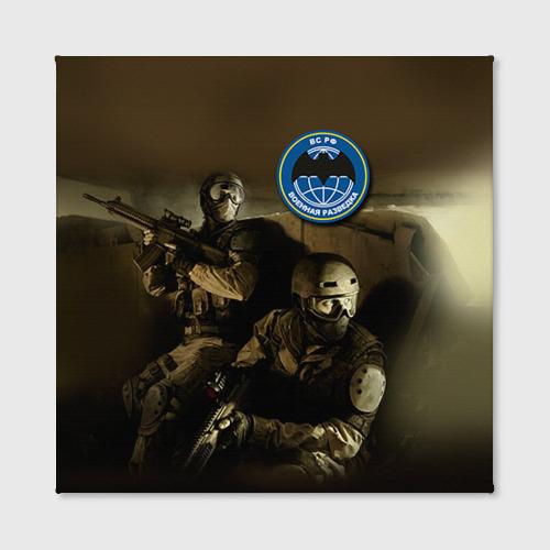 Холст квадратный  Фото 02, Военная разведка