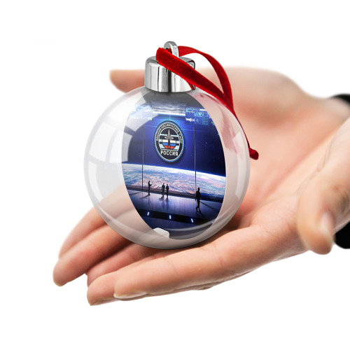 Ёлочный шар  Фото 02, Космические войска