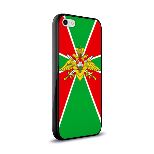 Чехол для iPhone 5/5S глянцевый Пограничные войска Фото 01