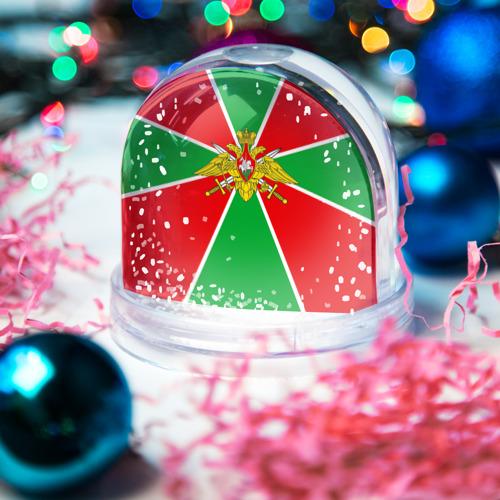 Снежный шар Пограничные войска Фото 01