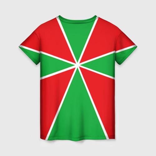 Женская футболка 3D Пограничные войска Фото 01