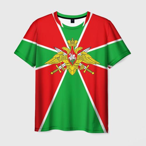 Мужская футболка 3D Пограничные войска от Всемайки