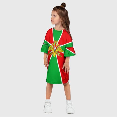 Детское платье 3D Пограничные войска Фото 01