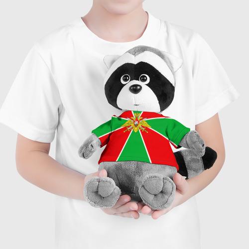 Енотик в футболке 3D Пограничные войска Фото 01