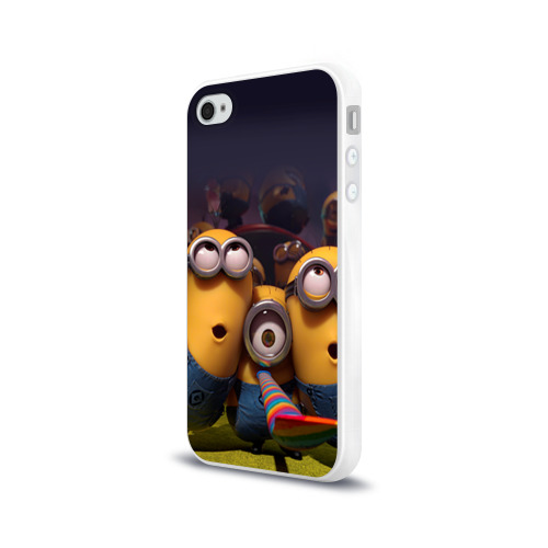 Чехол для Apple iPhone 4/4S силиконовый глянцевый  Фото 03, Вечеринка