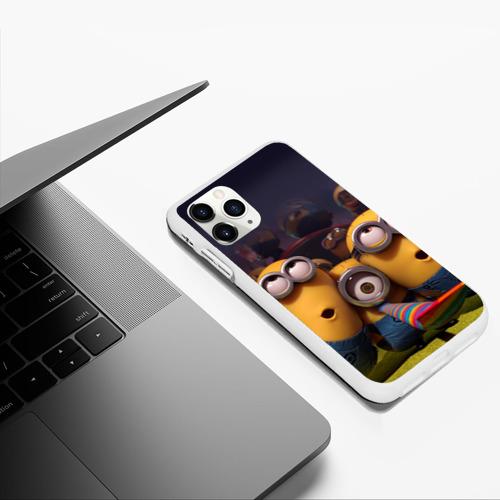Чехол для iPhone 11 Pro Max матовый Вечеринка Фото 01