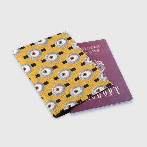 Обложка для паспорта матовая кожа  Фото 03, Очки