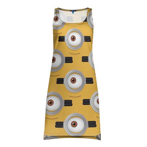 Платье-майка 3D Очки