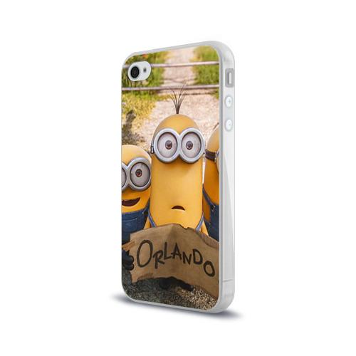Чехол для Apple iPhone 4/4S силиконовый глянцевый  Фото 03, Автостопщики