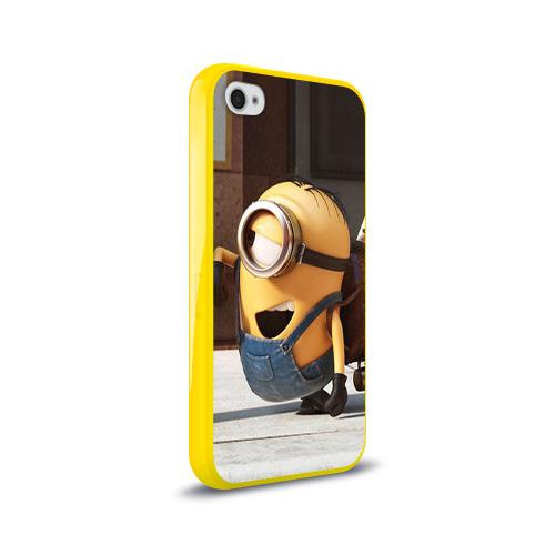 Чехол для Apple iPhone 4/4S силиконовый глянцевый  Фото 02, Знакомство