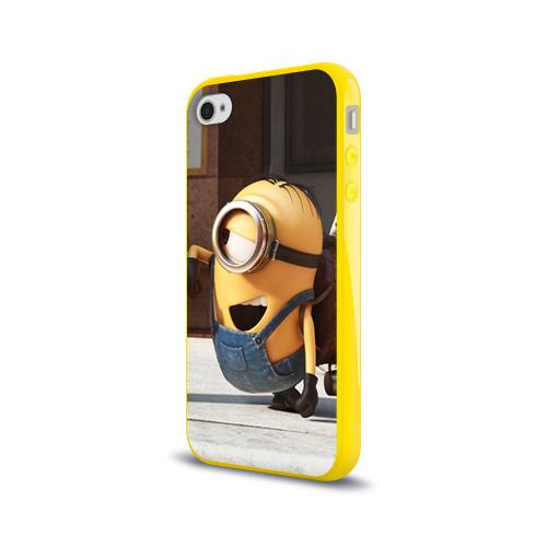 Чехол для Apple iPhone 4/4S силиконовый глянцевый  Фото 03, Знакомство