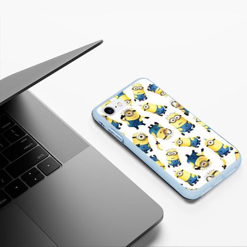 Чехол для iPhone 7/8 матовый Текстура Фото 01