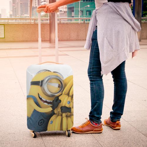 Чехол для чемодана 3D  Фото 04, Банан