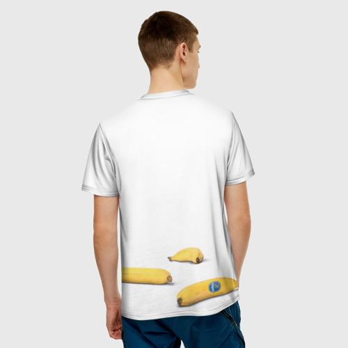 Мужская футболка 3D Банан Фото 01