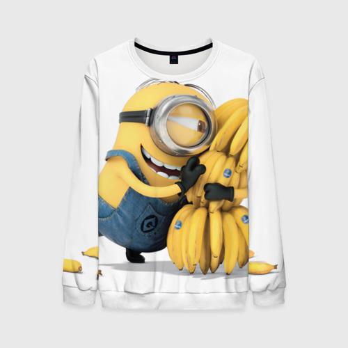 Мужской свитшот 3D Банан
